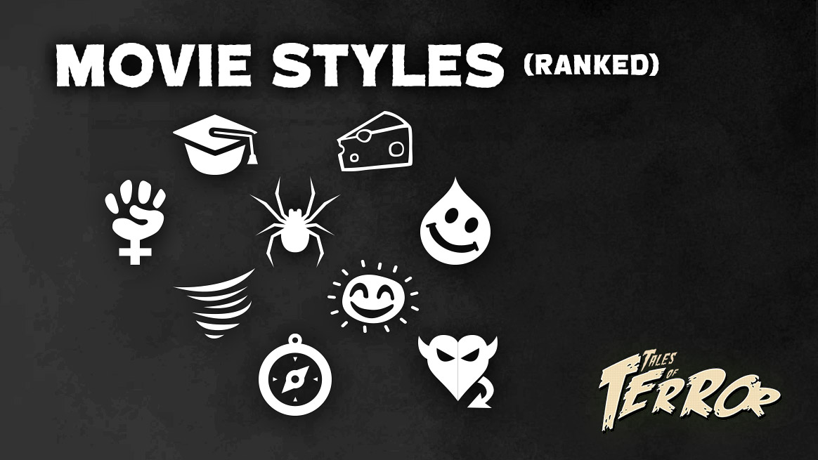 Movie Styles, Ranked
